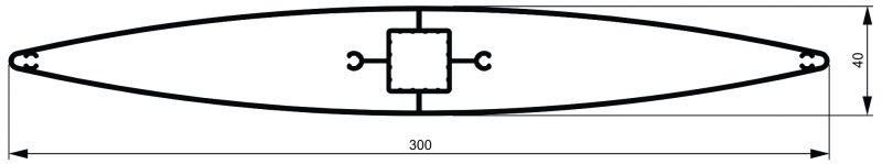 Gibljivi brisoleji - MODEL ''O-300'' 3