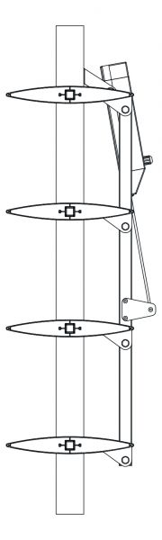 Gibljivi brisoleji - MODEL ''O-300'' 2