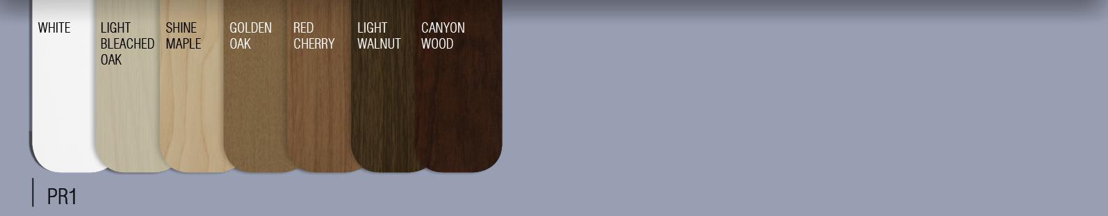 Barvni vzorec lesenih lamel