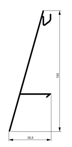 Fiksni brisolej - model I 2