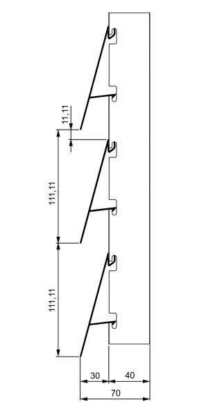 Fiksni brisolej - model I 3