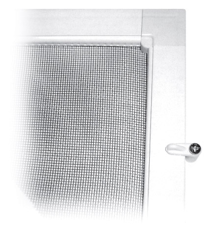 Fixed insect screens