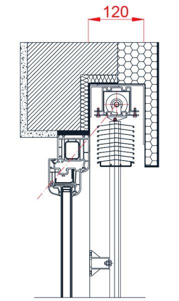 Podometna vgradnja - podometna maska